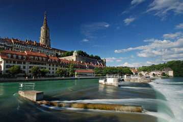 Schwellenmätteli an der Aare in Bern