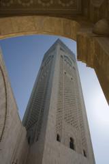 Casablanca - Moschea Hassan II - Minareto
