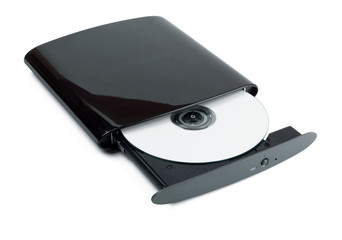 External DVD burner