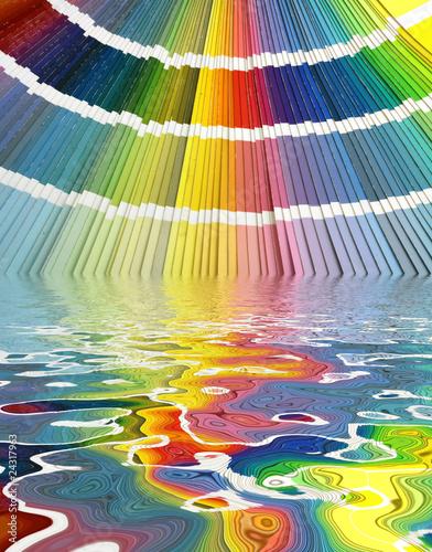Harmonies Teintes Couleurs Nuancier Palette Chromatique
