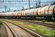 Oil transportation in tanks by rail