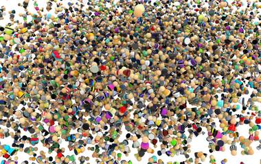 Cartoon Crowd, Inside Cloud