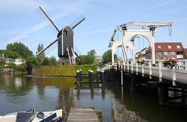 Mill and Drawbridge