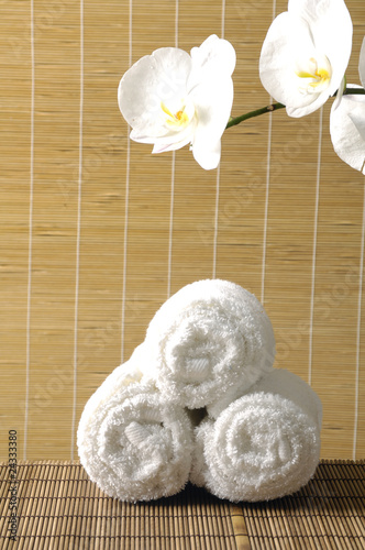 Spa towel / bright orchid