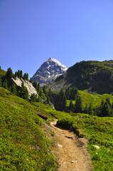 Wanderweg am Hangerer - Ötztal - Österreich