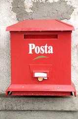 Hungarian mailbox