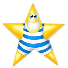 stella in costume da bagno