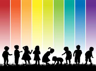 regenbogen kinder