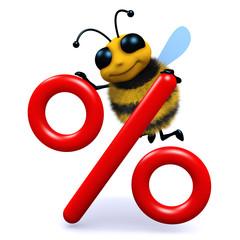 3d Bee percentage