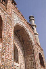 Tomb of a Muslim Emperor at Sikandra, Agra, India