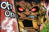 Fototapety граффити