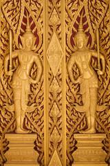 Details of Door in Thailand