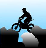 extreme moto sport poster