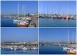 Cartolina del Porto turistico di Alghero
