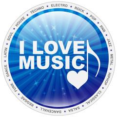Button - i love music