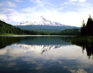 Mt.Hood and Trillium Lake, Oregon