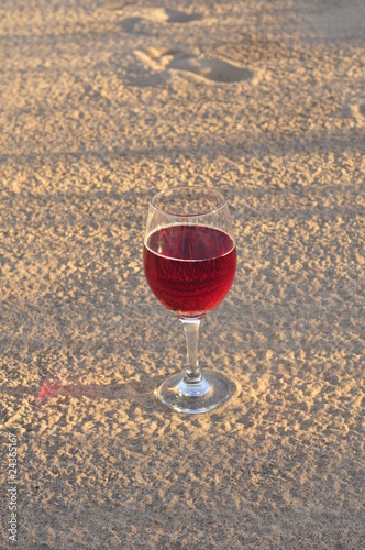 Wine In The Sand