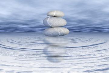 Gleichgewicht Balance Steine