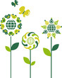 Eco concept flowers - 3