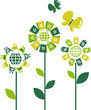 Eco concept flowers - 2