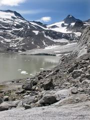 Gletschersee - glacier lake
