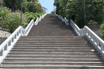 Agiou-Nikolaou-Treppe in Patras