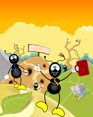 Ant workers