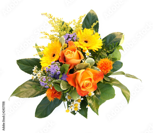 Fotobehang Bloemenwinkel Blumenstrauß