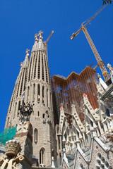 Церковь Саграда Фамилия.Барселона.