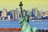 new york cityscape, tourism concept photograph