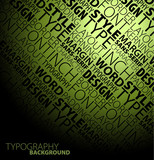 typography background poster