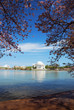 Jefferson national memorial lake view, Washington DC