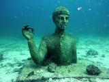 Fototapety Statue du commandant Cousteau