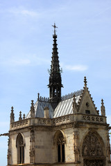 Saint Hubert gothic chapel,  Amboise, France