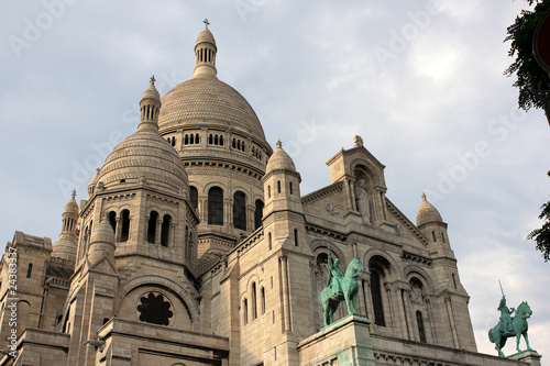 Church Sacre Coeur in Paris