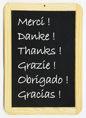 Merci dans toutes les langues