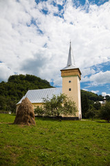 Medieval church in Corna Village