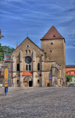old church in Regensburg/Ratisbon, Bavaria, Germany