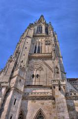 cathedral in Regensburg/Ratisbon, Bavaria, Germany