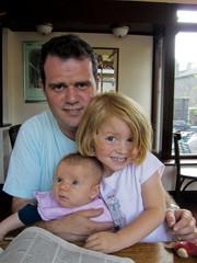 Père et ses jeunes enfants
