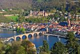 Fototapety Heidelberg at spring, Germany