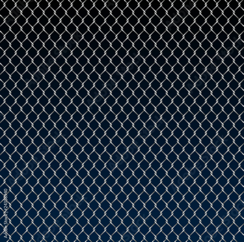 Wire fence background