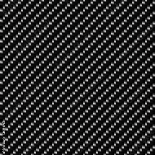 Carbon Fiber Seamless Background - dark version