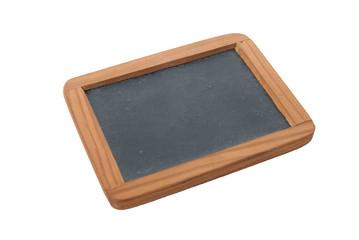 Empty Chalk Board on a easel