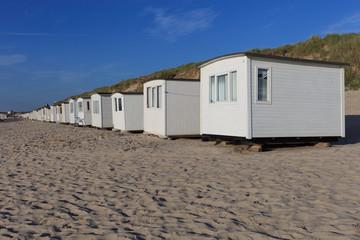 Strandhäuser in Lökken