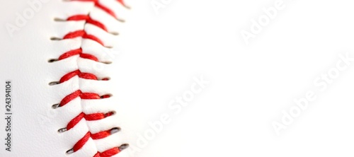 canvas print picture Base ball close up