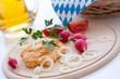 Bavarian biergarten food Obatzda