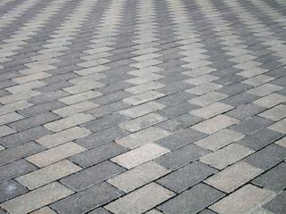 abstract zigzag road brick texture, travel concept