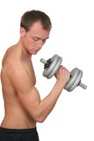 guy weightlifter poster