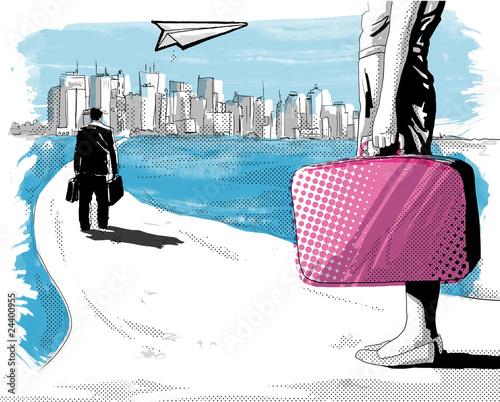 Way to new york - 24400955